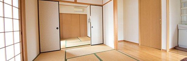 和室6畳+6畳+4.5畳の一戸建て離れ